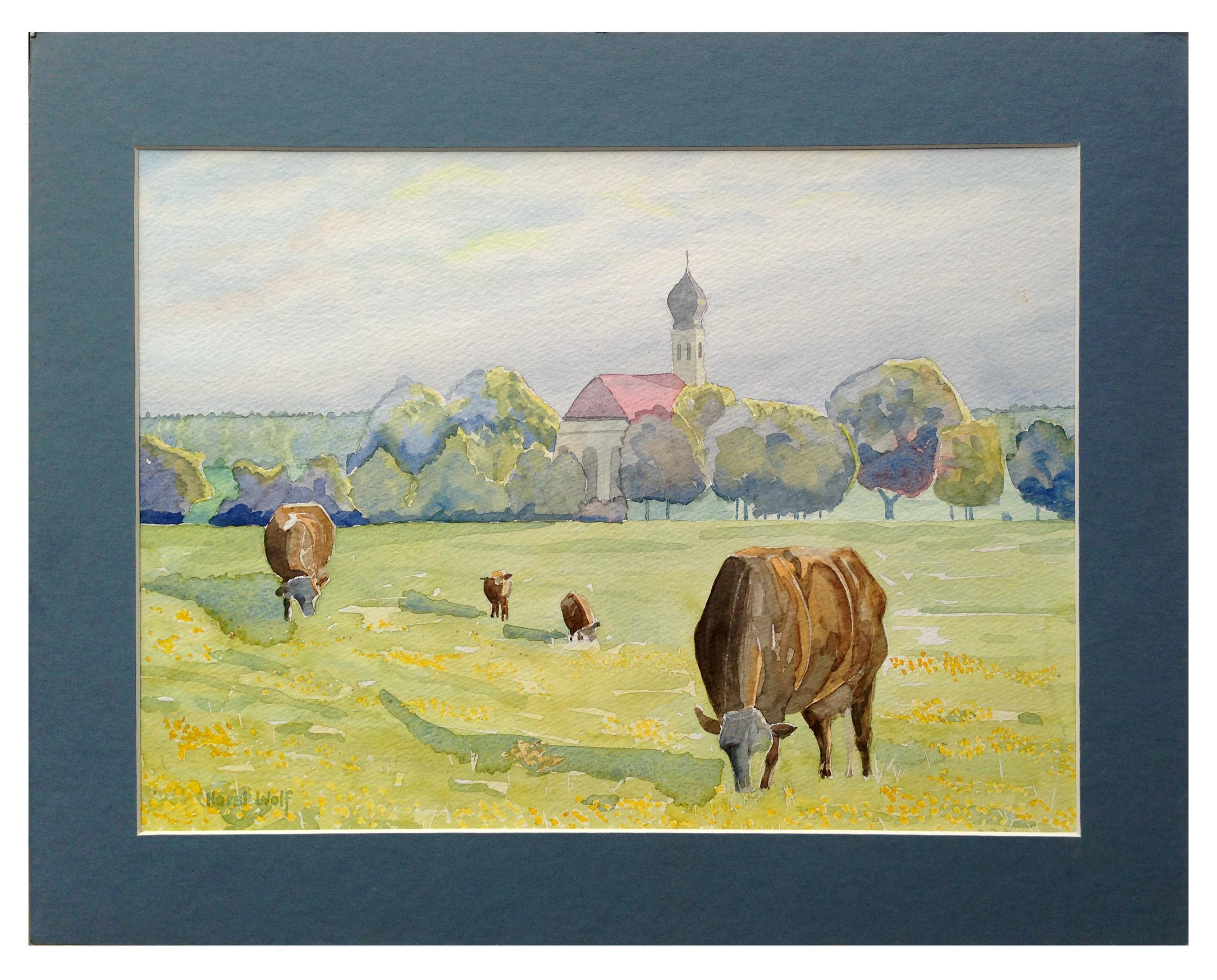 Bucolic Scene Landscape