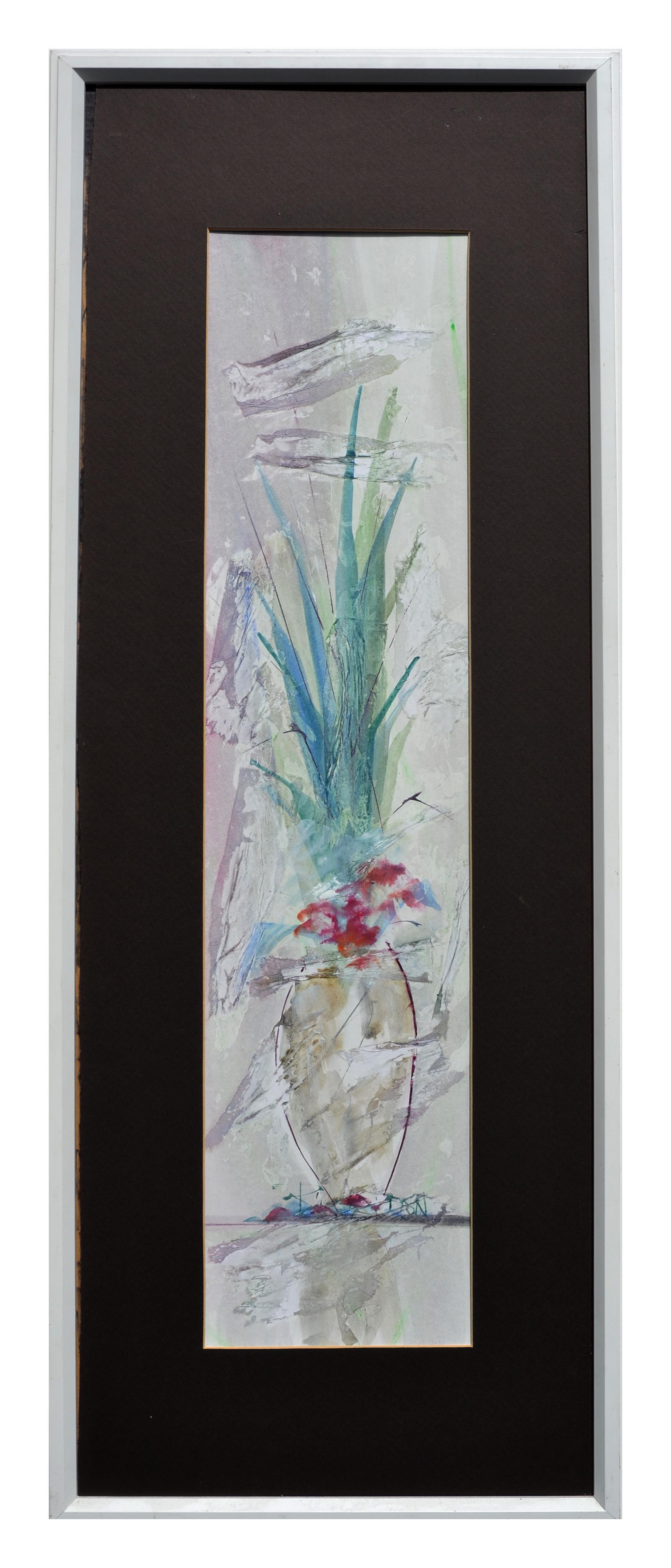 Vertical Flower and Vase