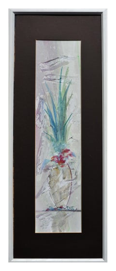 Vertical Flower and Vase