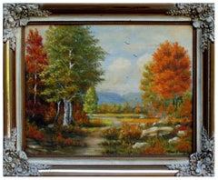Pleasant Autumn Morning Landscape