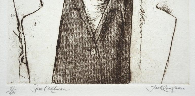 Portrait of Sam Colburn Carmel Artist For Sale 1