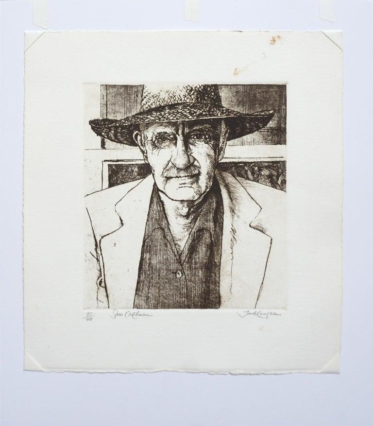 Portrait of Sam Colburn Carmel Artist For Sale 2