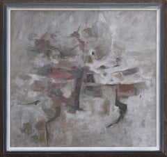 Mid Century Modern Silver Linings Abstract by Corban LePell