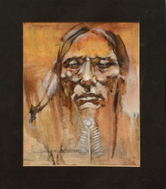 Native American Portrait by Shepard