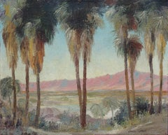 Early 20th Century Palm Springs Landscape by Edward Marion Langley 1913