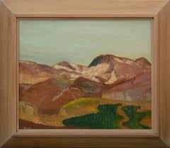 Mid Century Eastern Sierras Landscape
