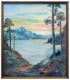 Pathway to the Lake, 1937 - Mountain Landscape