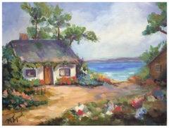 Pacific Grove Beach Cottage Landscape