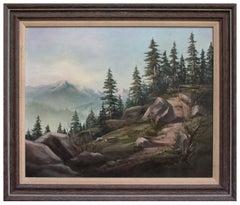Pacific Northwest Mountain Landscape