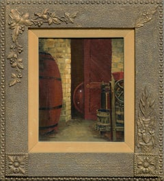 Wine Cellar Saratoga California by Zoe Thompson