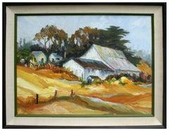 California Barn Landscape