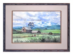 Mount Washington Farmhouse Landscape