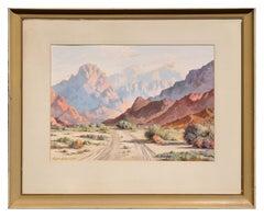 1940s Palm Springs Desert Landscape