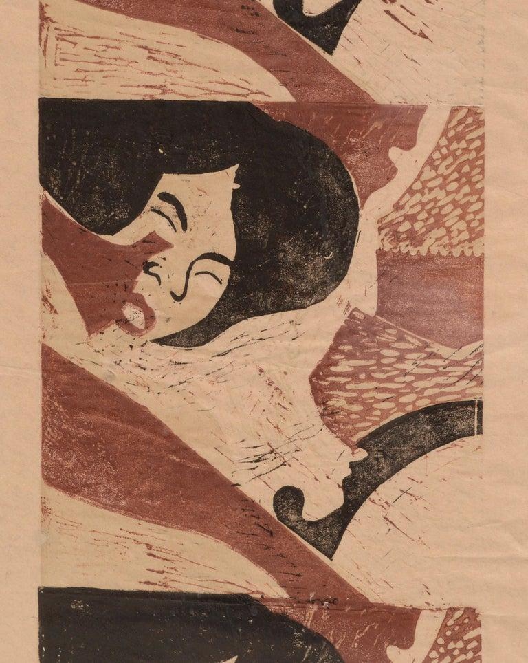 Sleeping Woman  - Pop Art Print by Paula Walzer