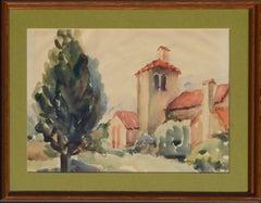 Mid-Century California Mission Landscape