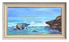 Divers Cove Point Lobos California Seascape