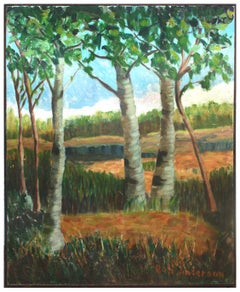 Sycamore Trees Landscape