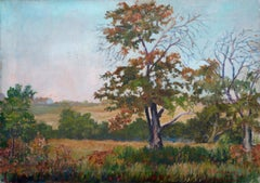 The Old Apple Tree Landscape