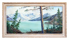 Mid Century Lake Tahoe Landscape