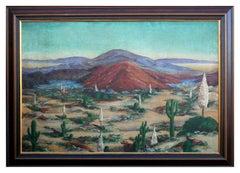 Midcentury Southwest Desert Landscape