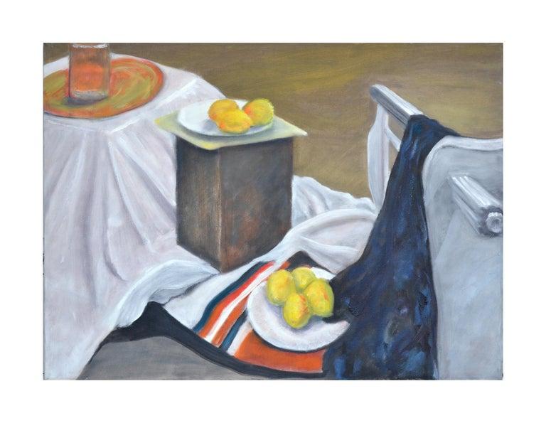 James Pollock Interior Painting - Still Life with Lemons
