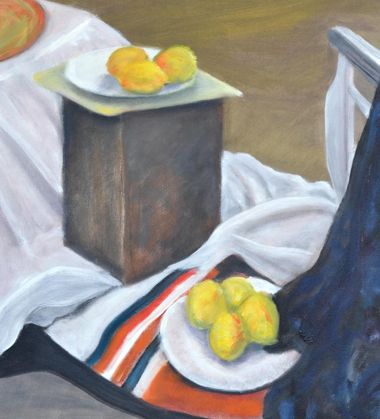 Still Life with Lemons  - Painting by James Pollock