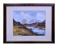 Scottish Highlands with Stream Landscape