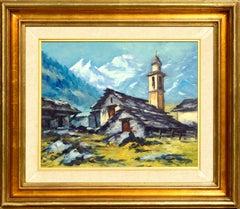 Valle Formazza, Italian Western Alps Landscape