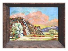 Mid Century Palm Springs Andreas Canyon Landscape