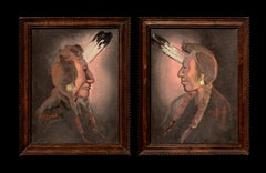 Pair of Native American Portraits