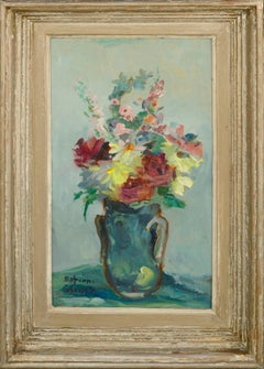 Midcentury Floral Bouquet Still-Life