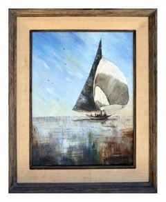 Sailboat Seascape