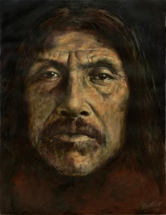 """Native American Portrait """"Indian Chief"""""""
