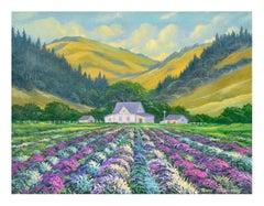 Lavender Fields Landscape