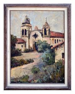 Carmel Mission - California Landscape