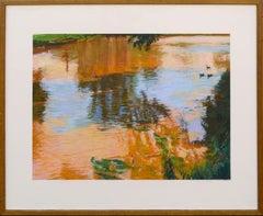 Colorful Reflections Landscape