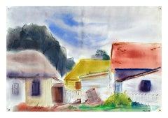 Colorful Houses Landscape