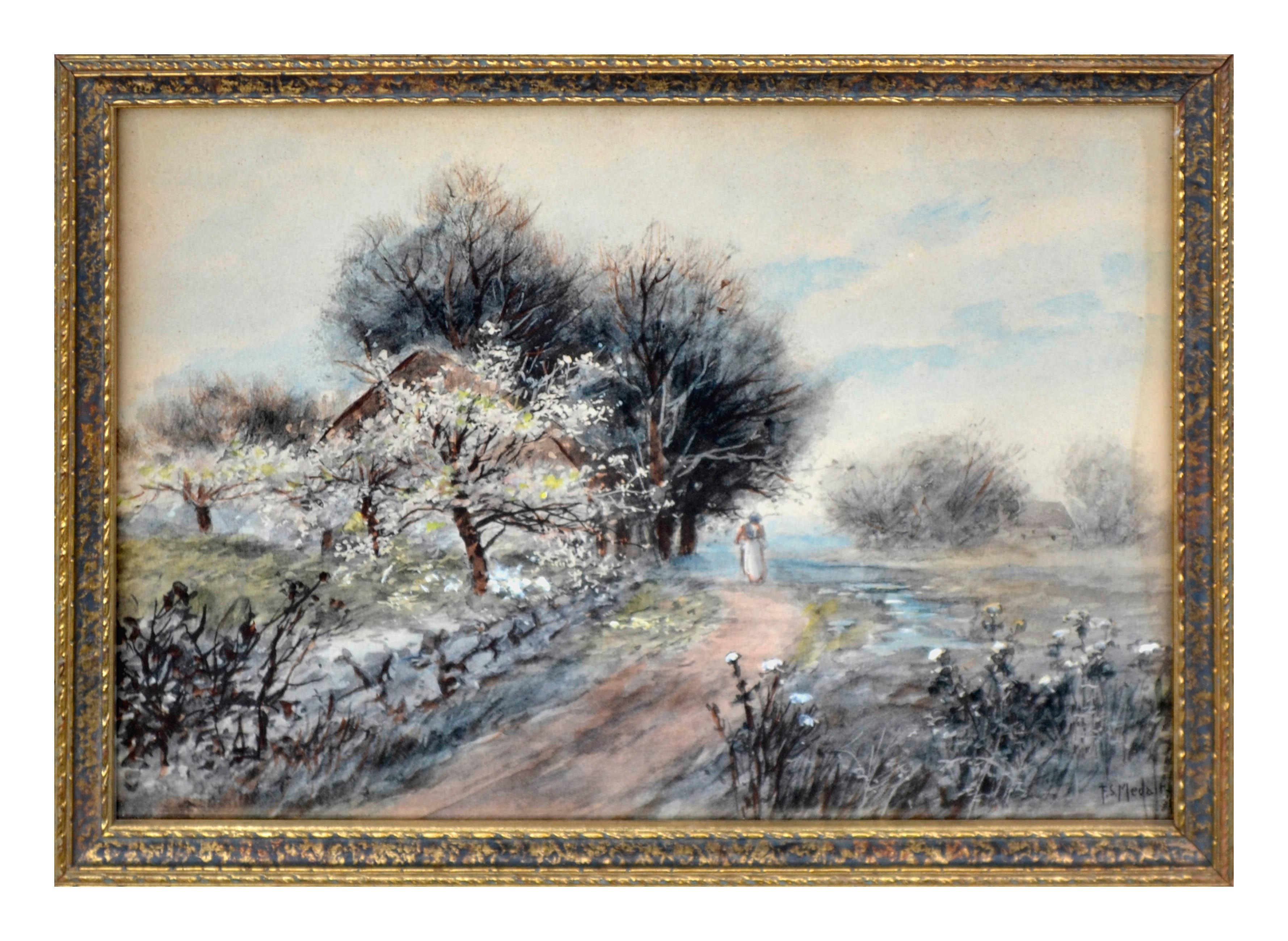 Turn of the Century Figurative Landscape