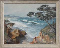 Vintage Carmel Seascape