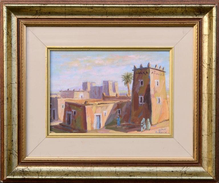 Boukhari Landscape Painting - Middle Eastern Street Scene