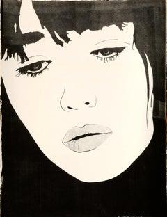 Pop Art Portrait of Kate Moss