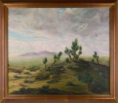 Mid-Century Joshua Tree Desert Landscape