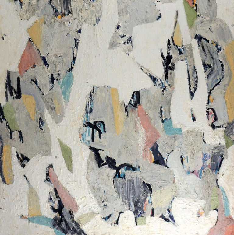 Abstract Coastal  - Abstract Expressionist Painting by Michael Pauker
