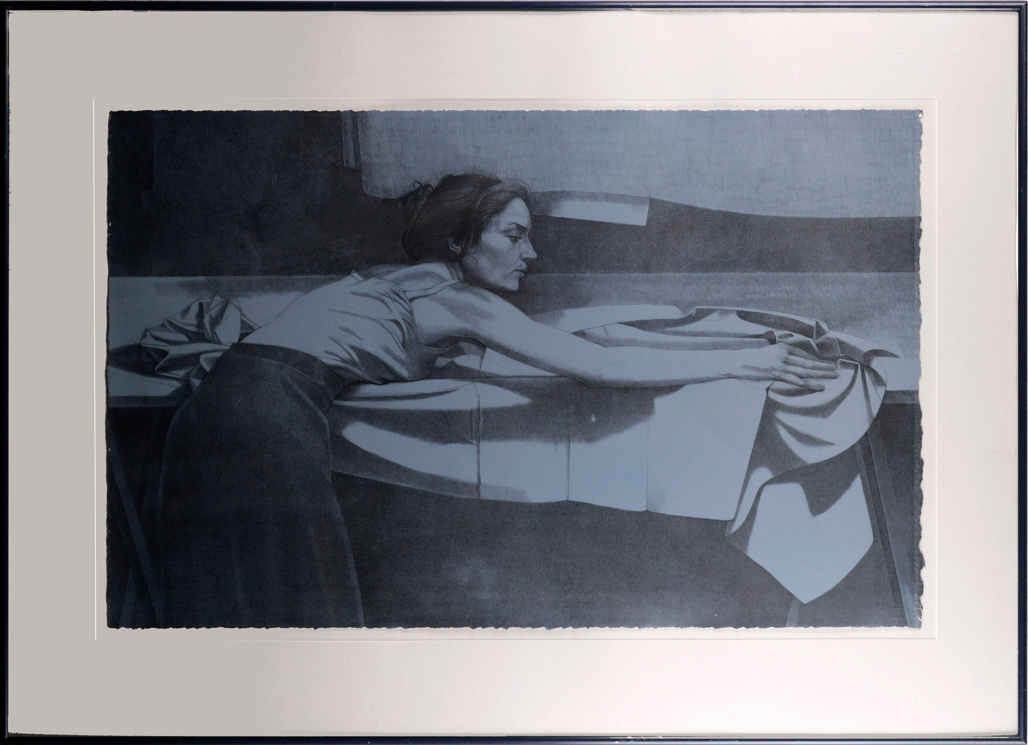 """""""Folding Linen III"""" - Limited Edition Lithograph, 20/75"""