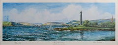 """""""Cumbrae Ferry from the Pencil, Largs"""" - Scotland Maritime Limited Edition Print"""