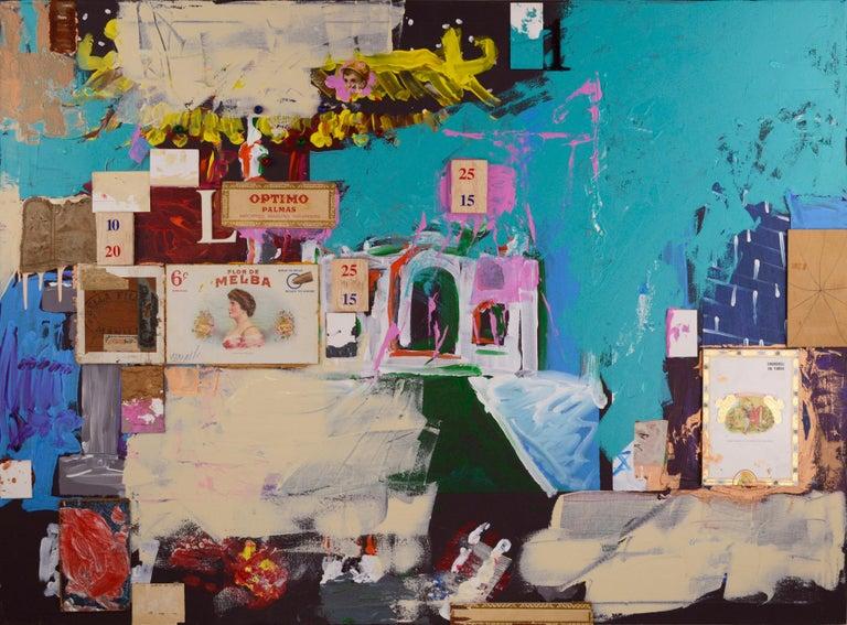 Michael Pauker  Abstract Painting - Dream Walk