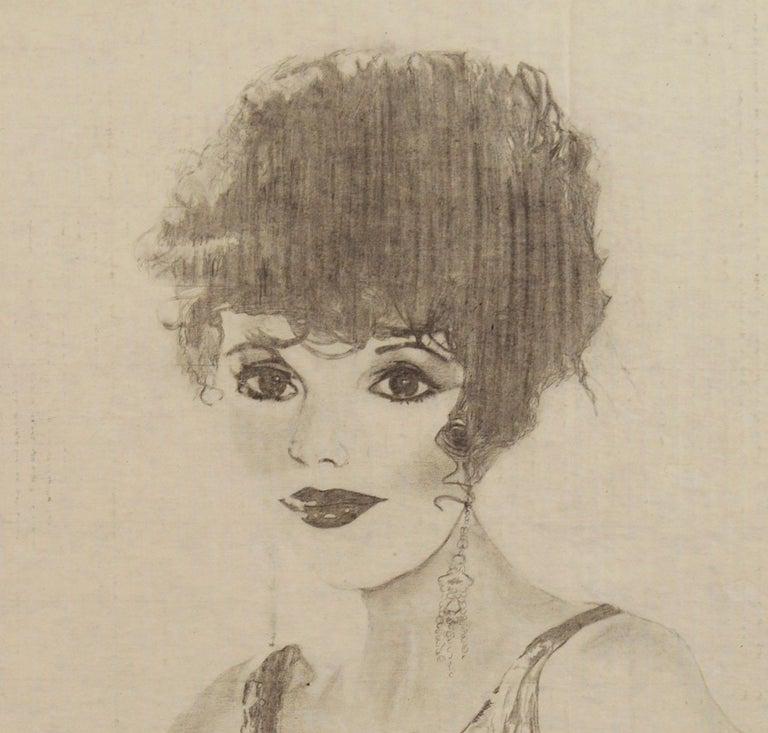 1985 Joan Collins Portrait by Louis Nadalini For Sale 1