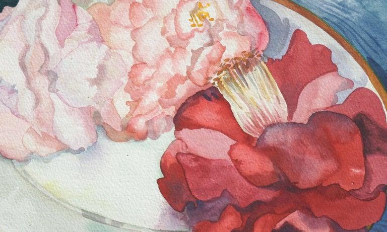 Camellias Still Life - Art by Shirley Putman