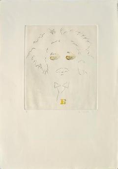 """""""E""""  Albert Einstein, Modern Portrait"""