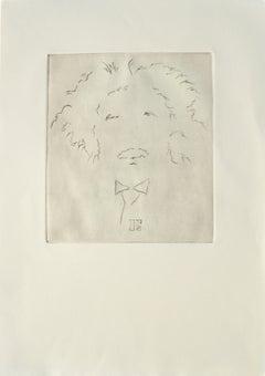 """""""E"""" Albert Einstein Portrait #10"""